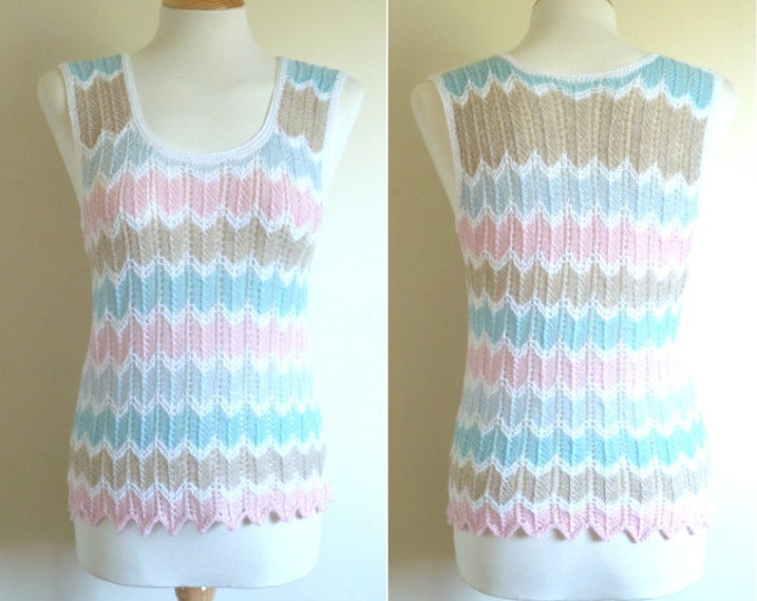 pdf pattern for the Summer Waves Top by Elizabeth Lovick - instant download