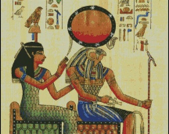 EGYPT THEME cross stitch pattern No.91