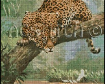 JAGUAR cross stitch pattern No.275