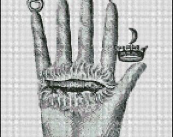 CHIROMANTIE cross stitch pattern No.418