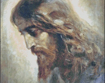 JESUS CHRIST cross stitch pattern No.450