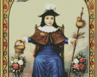 NINO DE ATOCHA cross stitch pattern No.184
