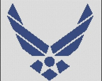 AIR FORCE DAD cross stitch pattern No.561