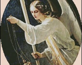 ANGEL cross stitch pattern No.555