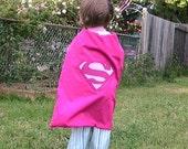 Reversible Supergirl\/Princess Cape