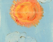 Brother Sun - ACEO LE Print Reserved for liberation