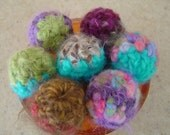 Super Awesome Fuzzy Catnip Balls -  Set of Three