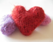 Knit Catnip Hearts - Set of Two