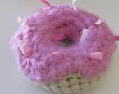 Crocheted Catnip Donut
