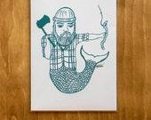 Mer-Jack - 5x7 print