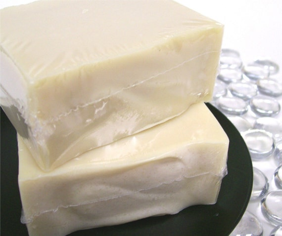 Creamy Goatsmilk Castile Soap - Unscented Handmade Cold Process Olive oil soap