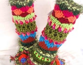 Slipper Boots/Leg Warmers Fabulous and Funky/ Ladies Women Adult/