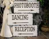 Wedding Signs   PHOTOBOOTH Signs   RECEPTION Signs   DANCING Signs   15 x 7