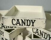 CANDY BOX, Candy BASKET, Candy Tray, Wedding Decorations, 12 x 12 x 3