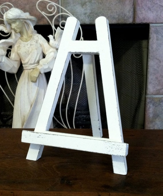 EASEL, WEDDING SIGNS, Sign Holder, Wedding Accessories, 10 1/2 in high
