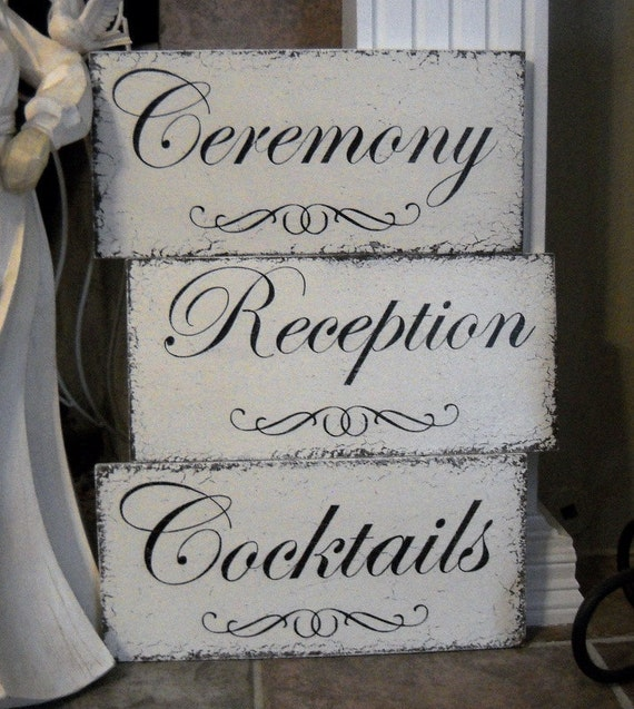 Items Similar To Wedding Signs