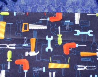 Flannel Tools Pillowcase