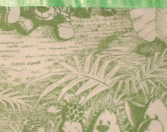 Cotton Green Jungle Pillowcase