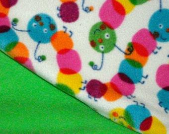 Fleece Caterpillar Blanket