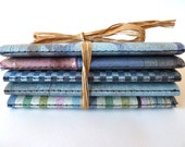 5 Distressed Notebooks