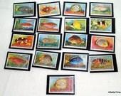 Cocos Keeling Islands fish stamps
