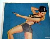 Billy Devorss pin up print vintage