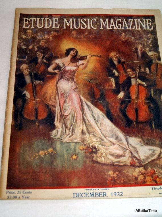 Etude 1922 Music Magazine
