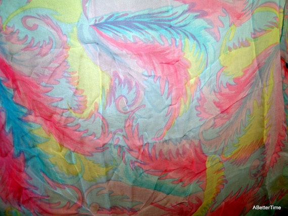 di Pinna Silk scarf vintage