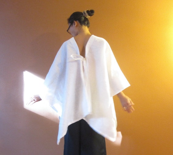 handmade eco linen origami wrap made to order