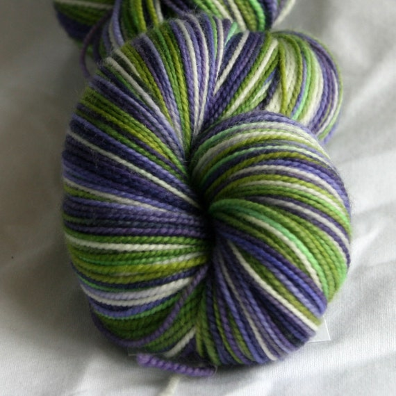 Variegated Yarn : Variegated Sock Yarn Letter Cleveland Spring by DestinationYarn