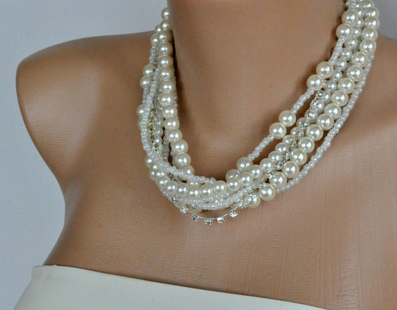 NEW Season Weddings Pearl Necklace Bridsmaids Gifts