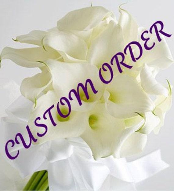 Custom Order for Melanie  Thank You