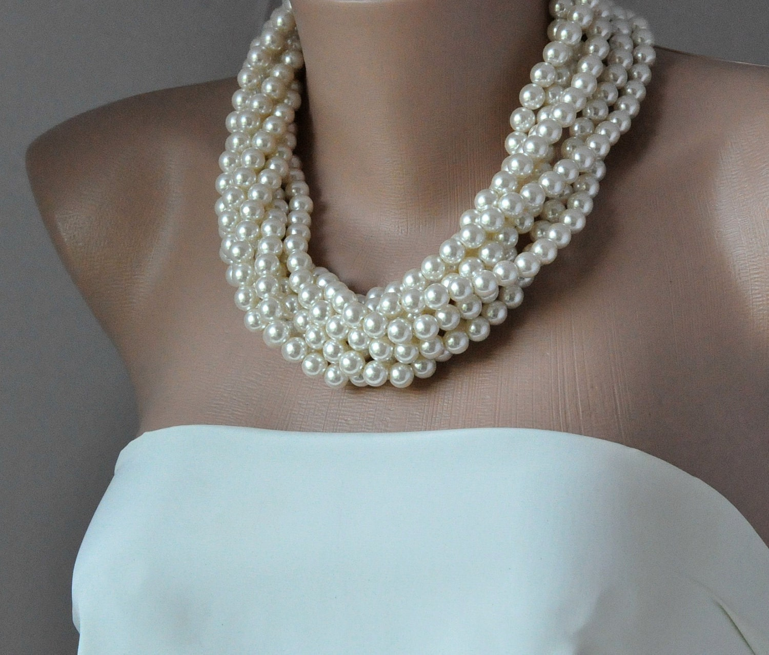 Incredible Chunky Pearl Necklace Wedding 1500 x 1277 · 337 kB · jpeg