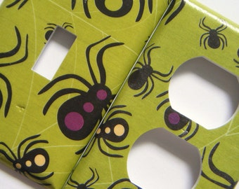 Spiders Light Switch Cover Outlet Cover Switchplate