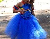 Rainbow brite costume Halloween party  Birthday dress