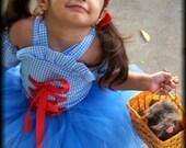 Dorothy Halloween costume newborn 2t 3t 4t 5t 6 girls