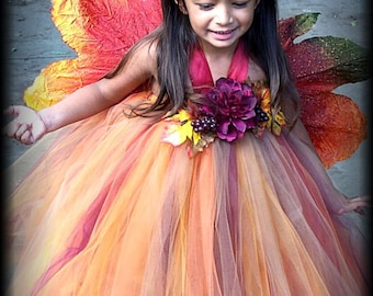 Weekend sale Thanksgiving Fall Forever Lovely Tutu DRESS 12 MONTHS 2T 3T 4T 5T 6
