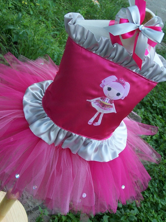 LaLaLoopsy Corset top and tutu Skirt set any colors with Bow size 12 months 18 2t 3t 4t 5t 6 girls