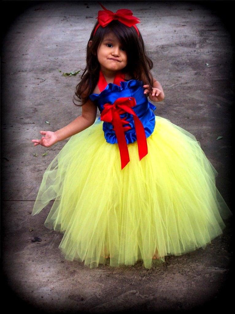 Snow White Princess corset and tutu dress set sizes 12 months