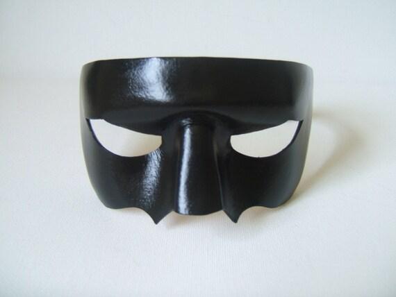 Kill Bill Crazy 88 Black Leather Mask