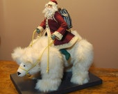 Santa on Polar Bear