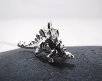 Stegosaurus The RAWR Dinosaur Necklace