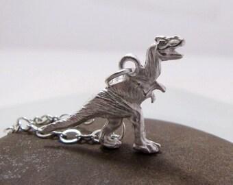 Tyrannosaurus THE RAWR Dinosaur Necklace