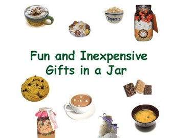 Fun and Inexpensive Gifts in a Jar