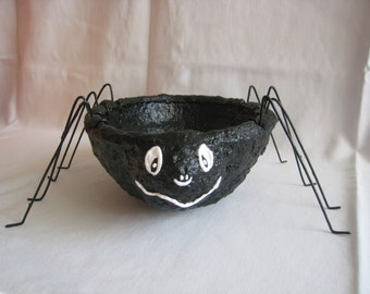 Pattern for Silly Spider Bowl