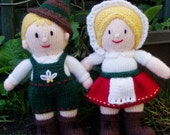 PDF Knitting Pattern - Hansel and Gretel