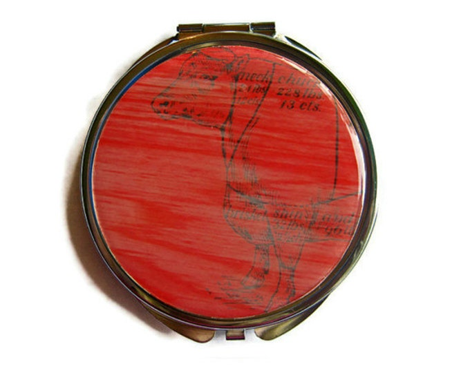 Cuts of Beef Compact Mirror Pocket Mirror Large Gifts for her