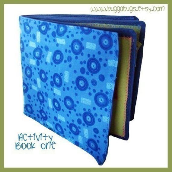 ACTIVITY BOOK 1 - PDF Quiet Book Pattern