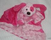 Security Blanket  Lovie Baby Blanket Puppy - Lovems