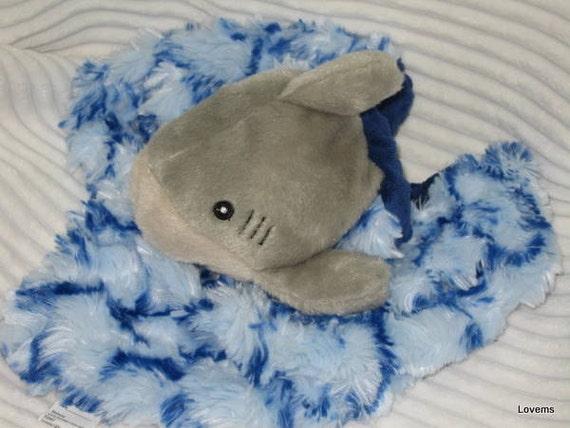 Security Blanket - Great white shark - mini Lovems